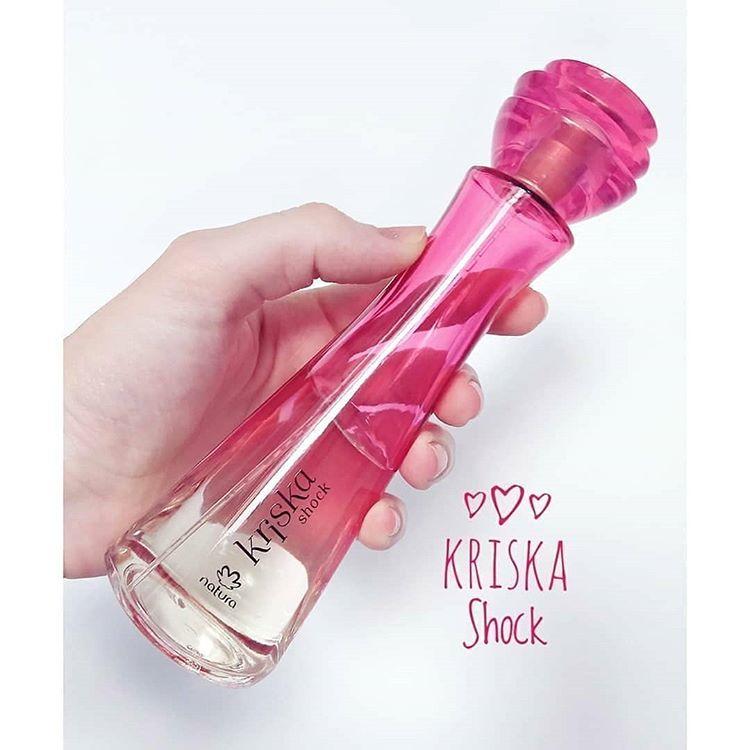 Kriska shock la nueva fragancia de Natura