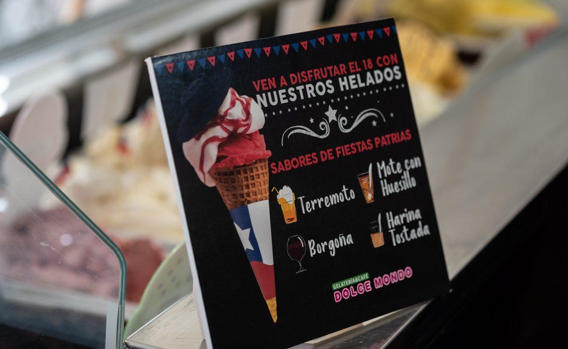 helados dolce mondo para fiestas patrias