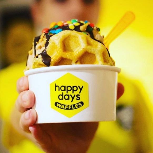 happy days waffles
