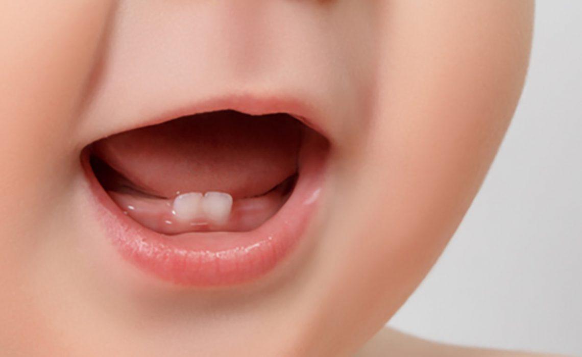 bebé dentinción