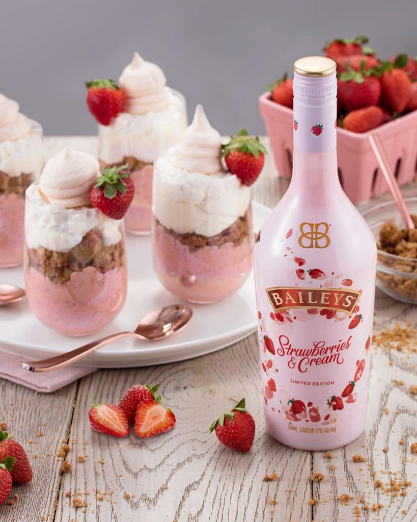 strawberries y cream