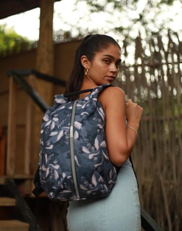¿Una mochila de seguridad con materiales reciclados? Claro que sí