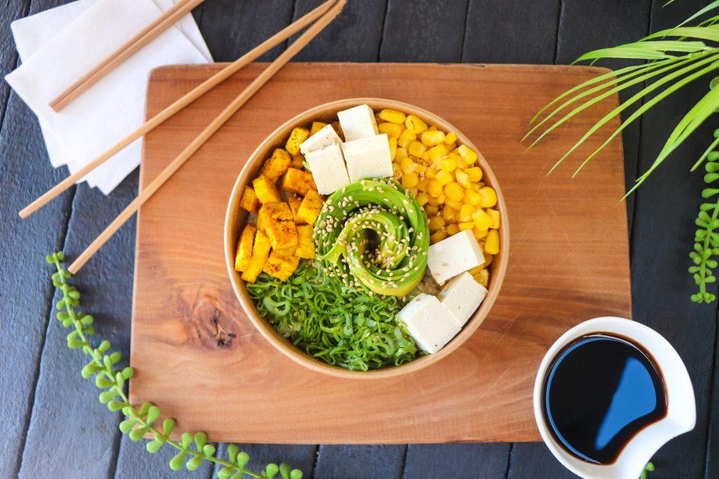 sushi basado en plantas
