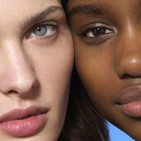 rostro de 2 mujeres