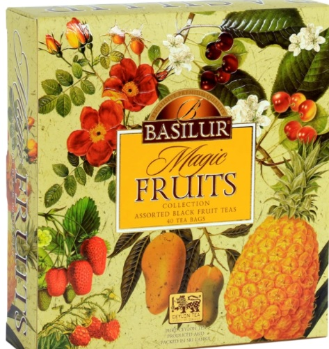 té basilur magic fruits